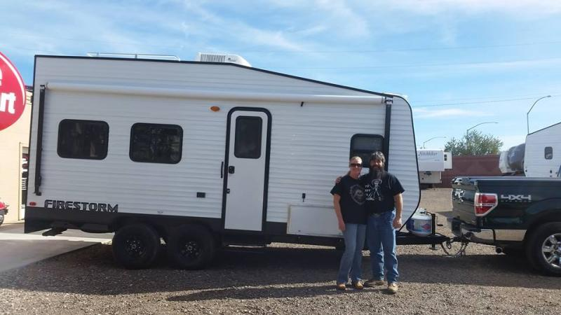 We couldn't be happier. How the toy hauler came out exceeded our expectations.