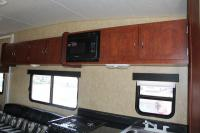 Bumper Pull Cabinets And Microwave