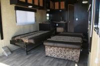 Fifth Wheel Bed Couch - 30ft